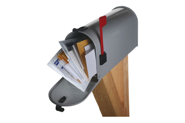Opvallen in de overvolle mailbox